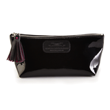 Cosmetic Case in Patent Black