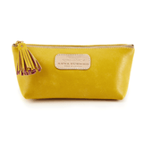 Cosmetic Case in Canary Yellow