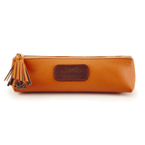 Handmade Pencil Bag in Autumn Orange