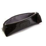 Handmade Pencil Bag in Black lining detail
