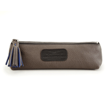 Handmade Pencil Bag in Grey