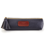 Handmade Pencil Bag in Navy