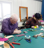 One Day Leather Craft Workshop - 'Make Your Own Make-Up Case'