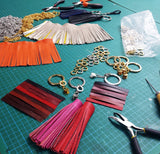 Half Day Leather Craft Workshop - 'Make Your Own Tassel | Key Ring'