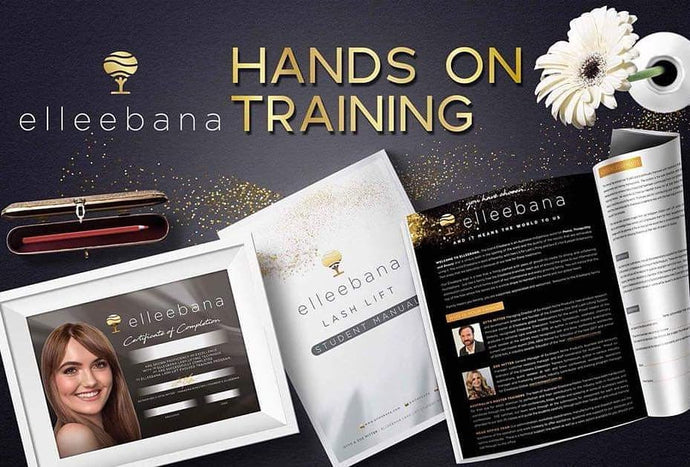 Elleebana Lash Lift Training - Hands On Course