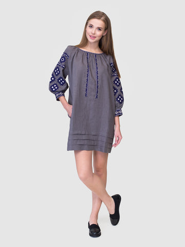 Embroidered dress MD18/2