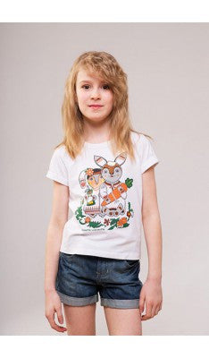 "Kid's T-shirt ""Bunnies"""