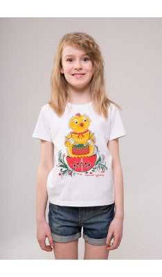 "Kid's T-shirt ""Musical Chicken"""
