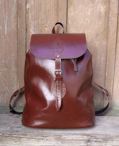 Brown Fire Breather bag