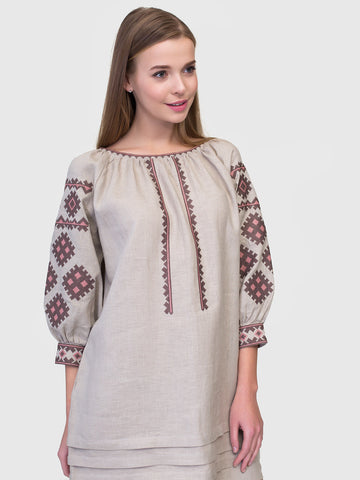 Embroidered dress MD18/1