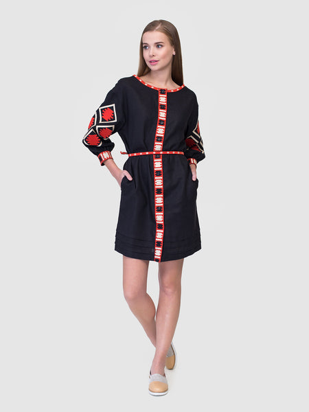 Embroidered dress MD19/1