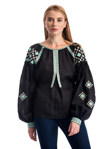 Embroidered blouse ES12