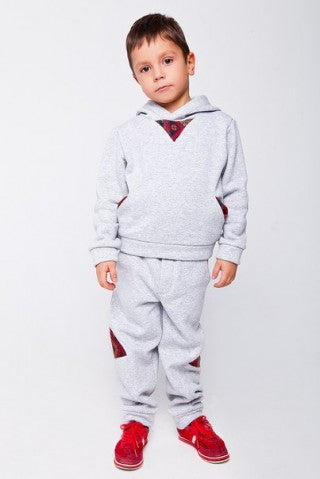 Embroidered boy's tracksuit 508-c02