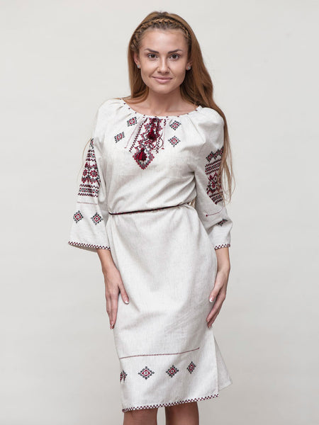 HM Embroidered dress M1
