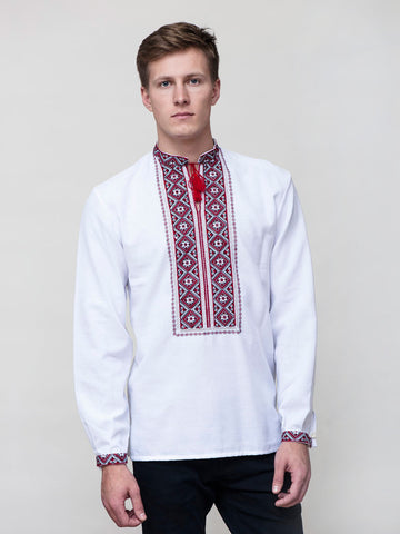 Embroidered men's E23