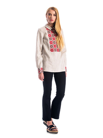 Embroidered blouse ES1