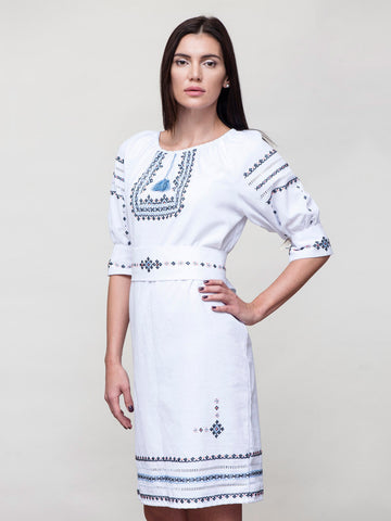 HM Embroidered dress M7