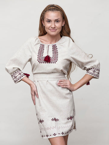 HM Embroidered dress M15