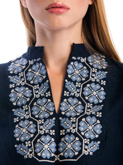 Embroidered blouse ES14