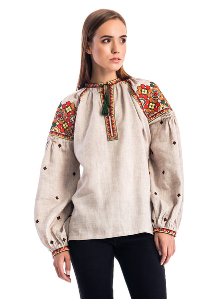 Embroidered blouse ES10