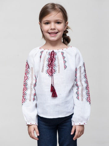Embroidered girl's D14