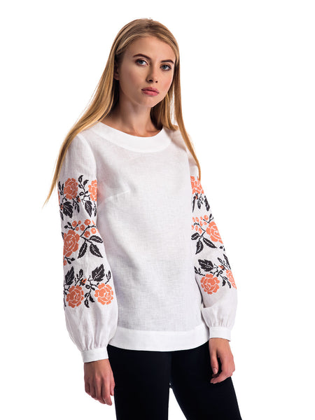 Embroidered blouse ES20