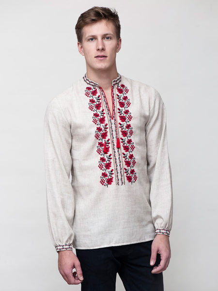 Embroidered men's E77