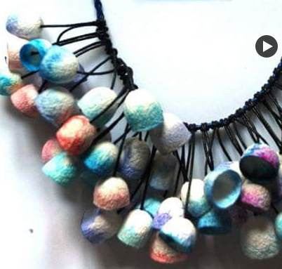 Silkworm cocoon Necklace - PBBs