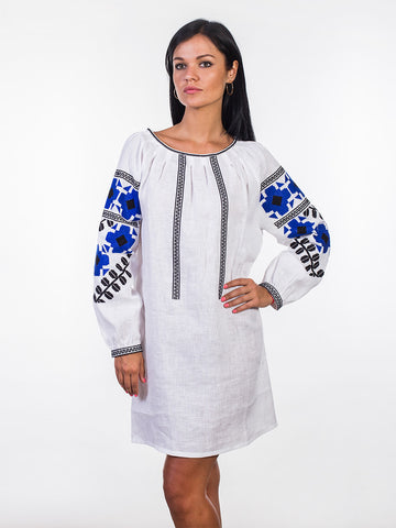 Embroidered dress MD1