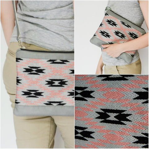 Handmade tribal hand bag