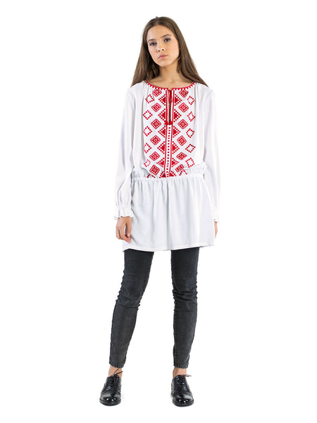 Embroidered blouse BL5