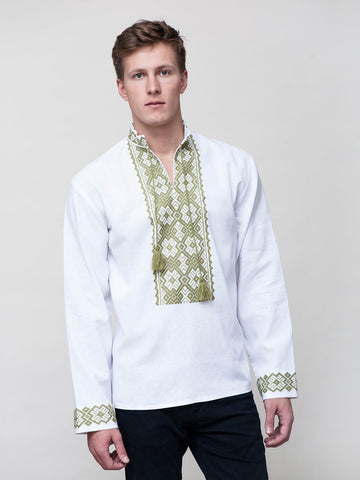 Embroidered men's E17