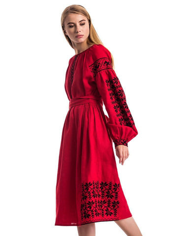 Embroidered dress MD 13