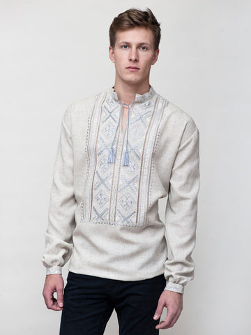 Embroidered men's E49