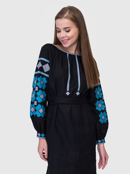 Embroidered dress MD17/2