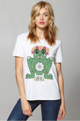 "T-Shirt ""Frog with Wreath"""