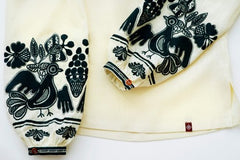 Embroidered blouse (767)