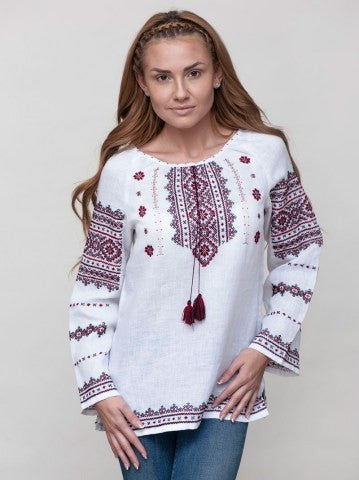 Embroidered blouse C9