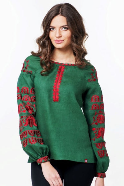 Embroidered blouse (752)