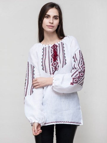 Embroidered blouse C11
