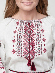 Embroidered blouse CL1