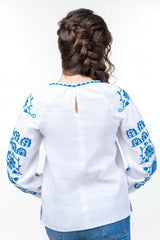 Embroidered blouse (754)