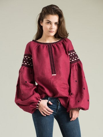 Embroidered blouse ES2