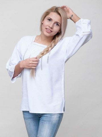 Embroidered blouse A5