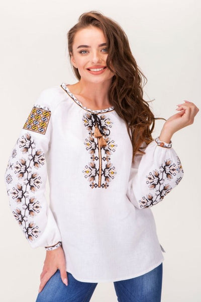 Embroidered blouse (7402)