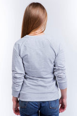 "Woman's sweatshirt ""Home"" grey"