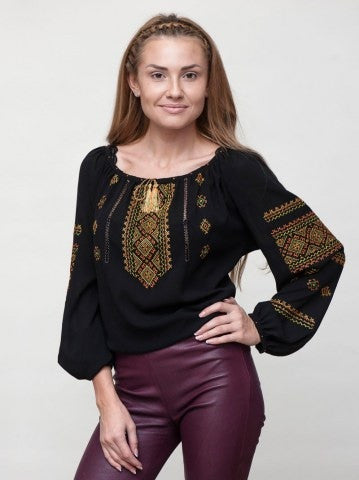 Embroidered blouse F4