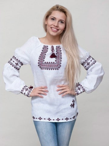 Embroidered blouse C13