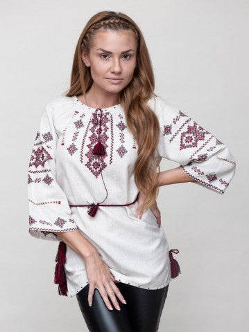 Embroidered blouse CL2