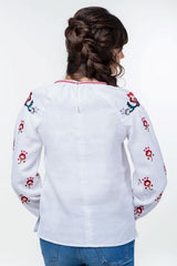 Embroidered blouse (758)